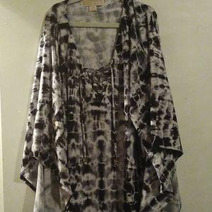 Michael Kors shortsleeve blouse